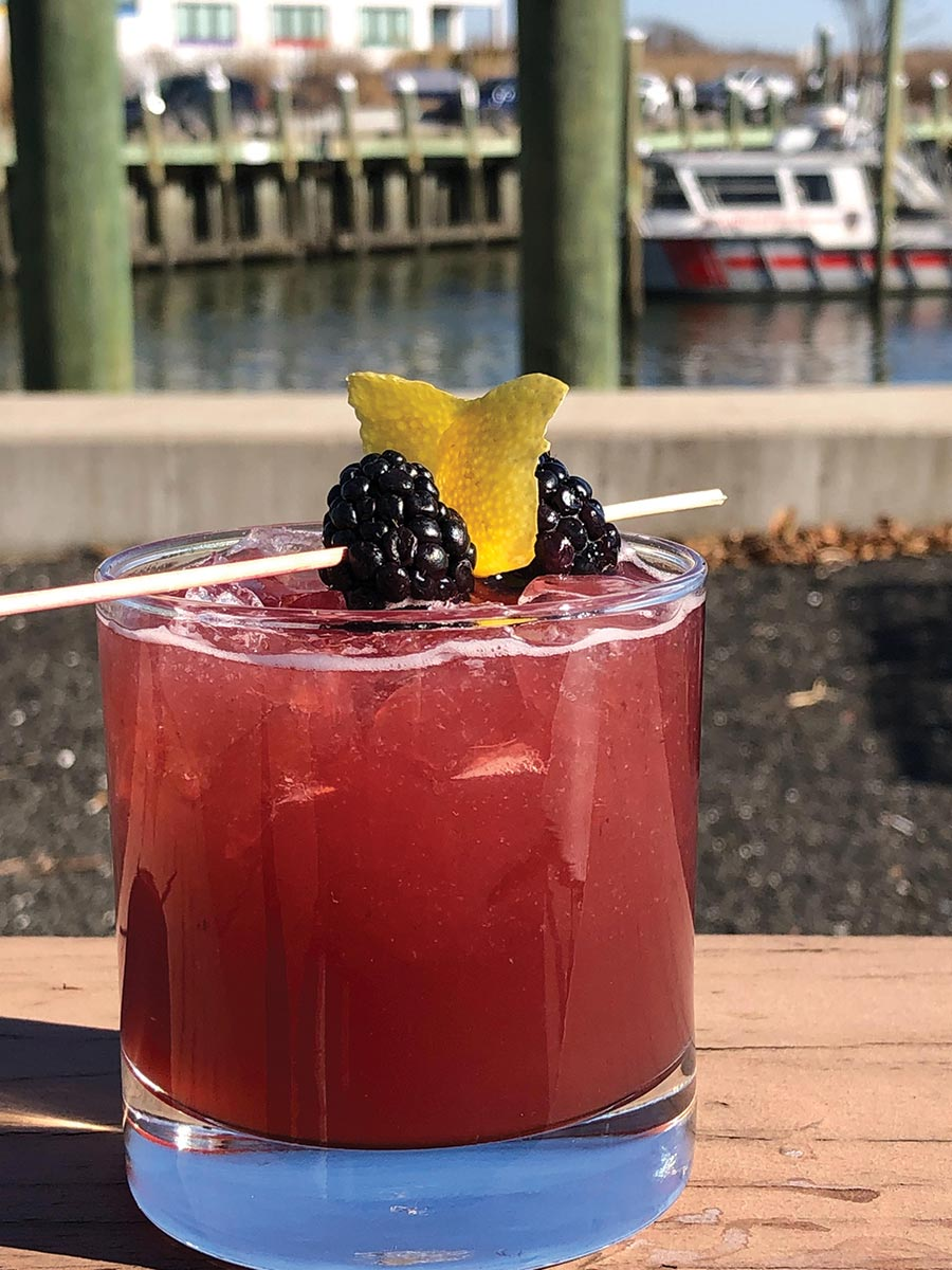 Serving Up: The Blackberry Fig at Guilford Mooring