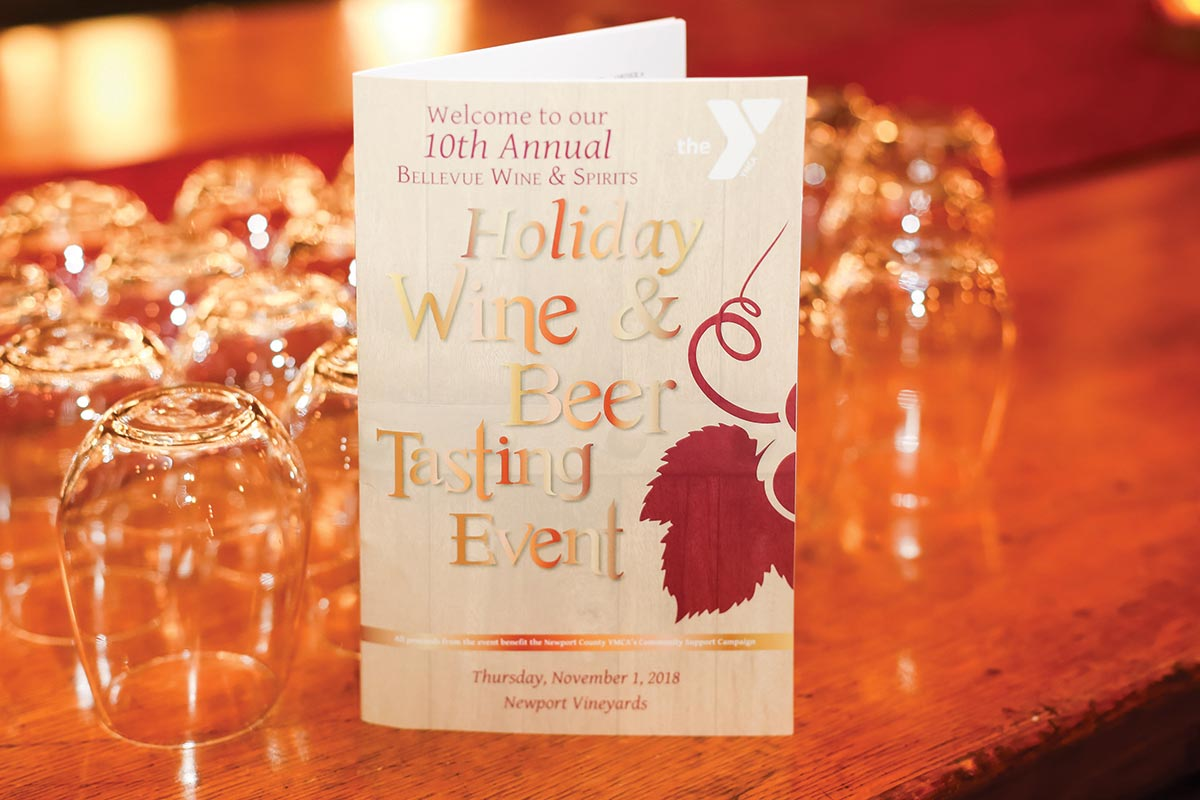 Bellevue Wine & Spirits Holiday Tasting Benefits YMCA