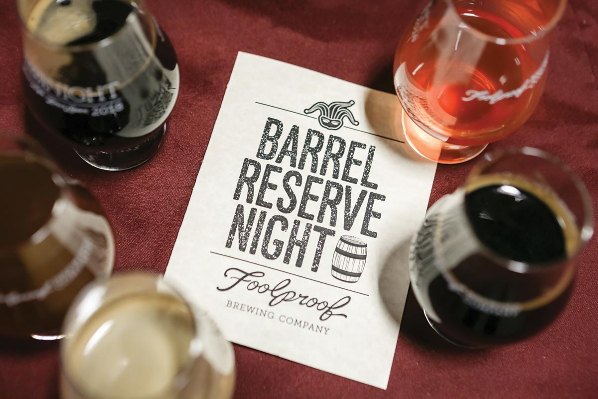 Foolproof Hosts Fifth Annual Barrel Reserve Night