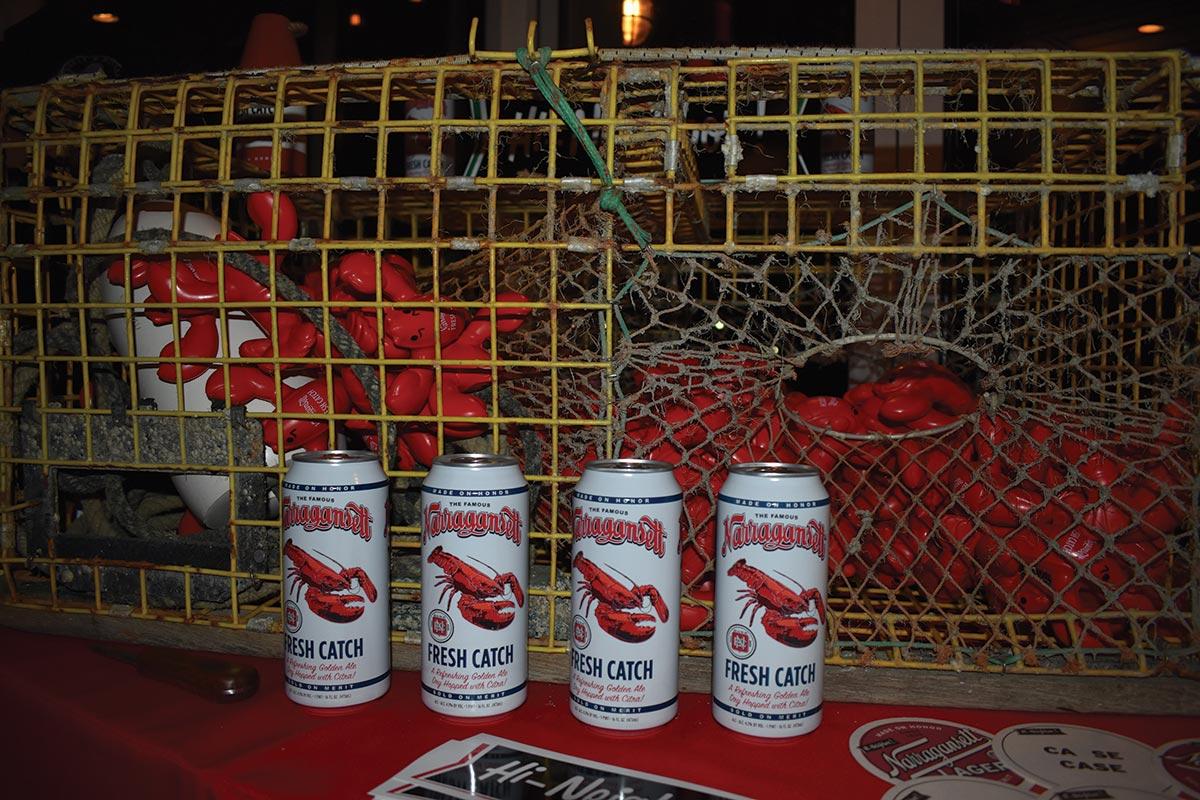 Narragansett Beer Debuts Latest Brew at Shell & Bones