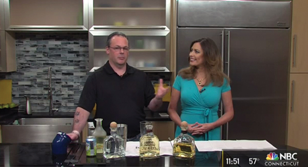 DeSerio Celebrates National Tequila Day with NBC CT