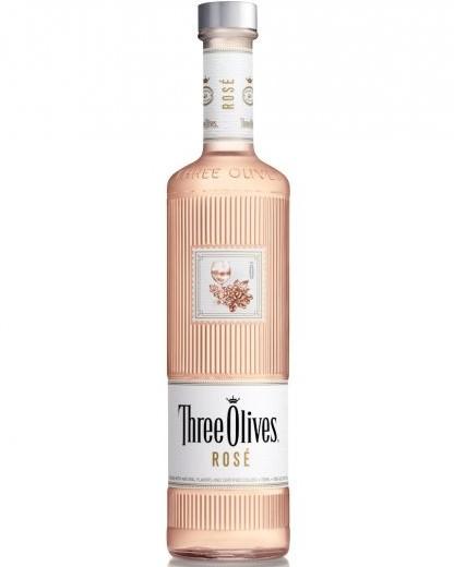 Three Olives Debuts Rosé Vodka