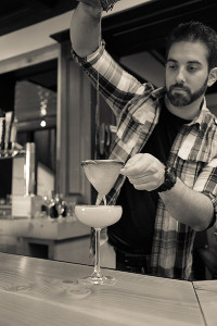 Bartender Adam Patrick
