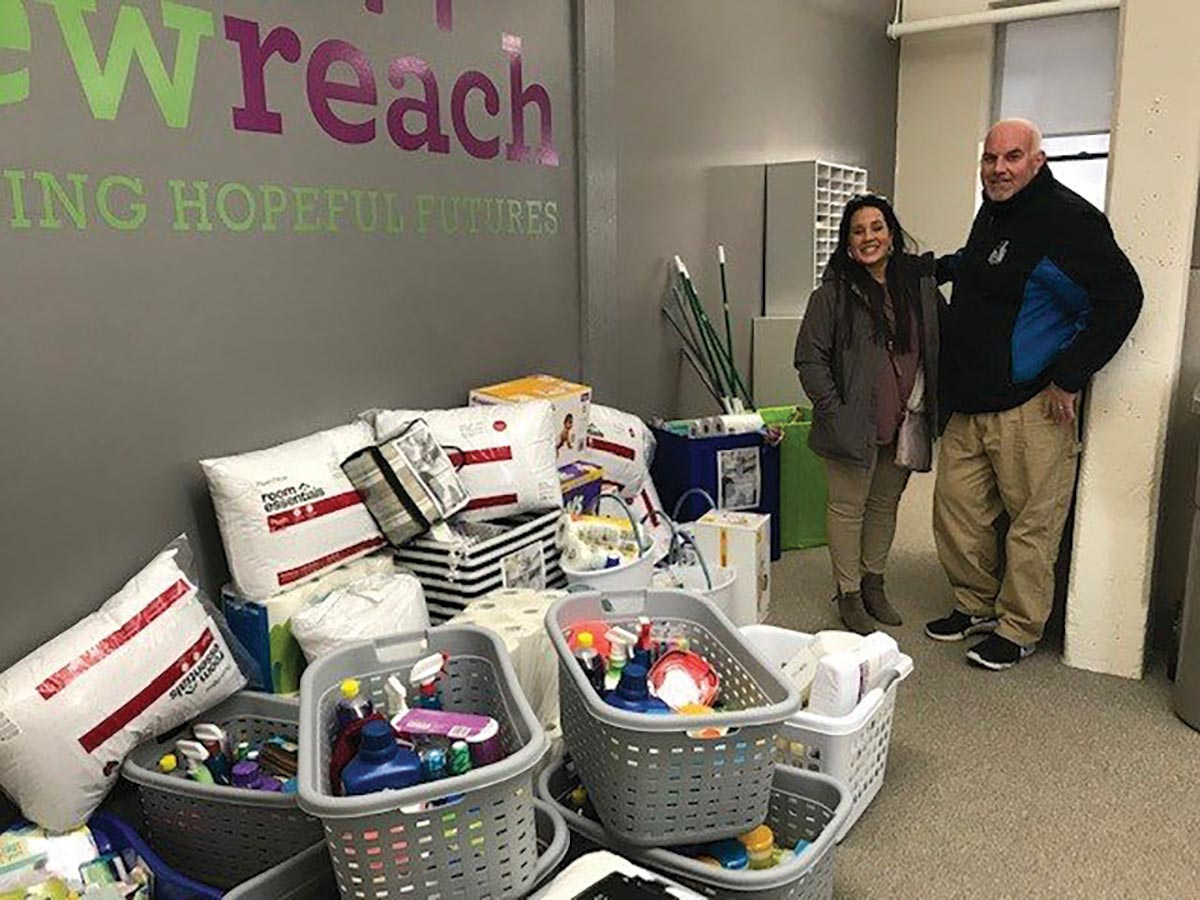 Brescome Barton Steps Up for Supply Donations