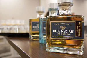 Blue Nectar Tequila is handcrafted in small batches. It is a premium blue agave tequila made in the lowlands of Jalisco, the heartland of tequila country. Available in Silver, Reposado Extra Blend, Reposado Special Craft and Añejo Founder's Blend.