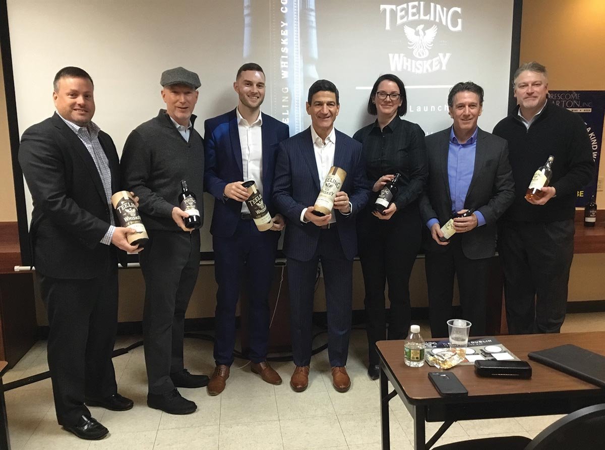 Brescome Barton Welcomes Teeling Irish Whiskies