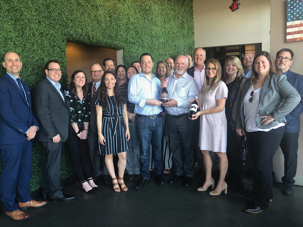Michael David Winery Luncheon Hosted for CDI Team