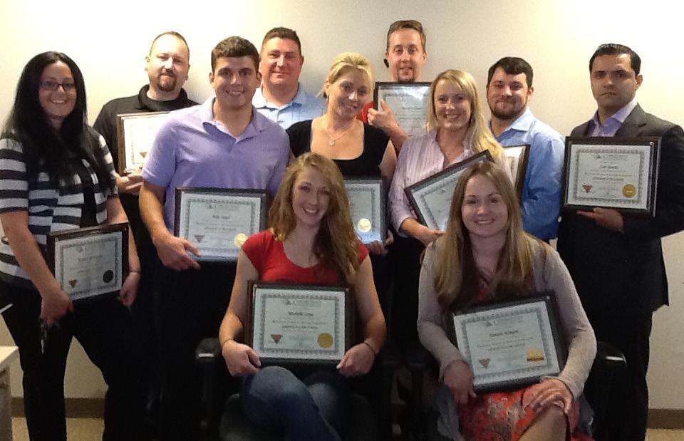 AROUND TOWN: CDI Apprentice Class Graduates