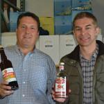 Jim Pickett, Marketing Representative, U.S. Artisanal with Filip Wouters, Marketing Representative, U.S. Artisanal.