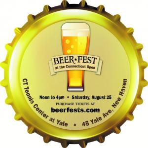 August 25, 2018: Beer Fest at the Connecticut Open