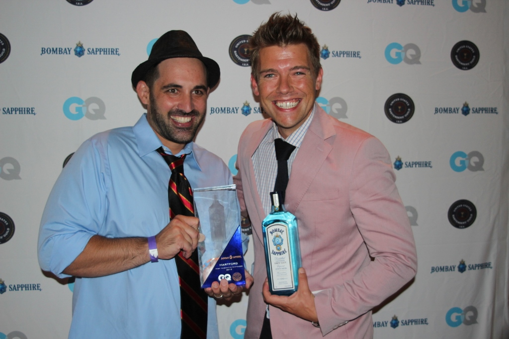 "Bombay Sapphire GQ ""Most Imaginative Bartender"" Connecticut"