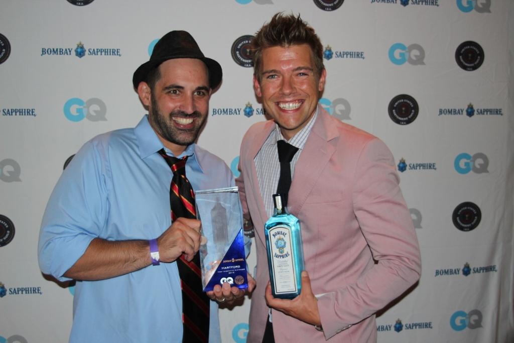 "Bombay Sapphire GQ ""Most Imaginative Bartender"" Connecticut"