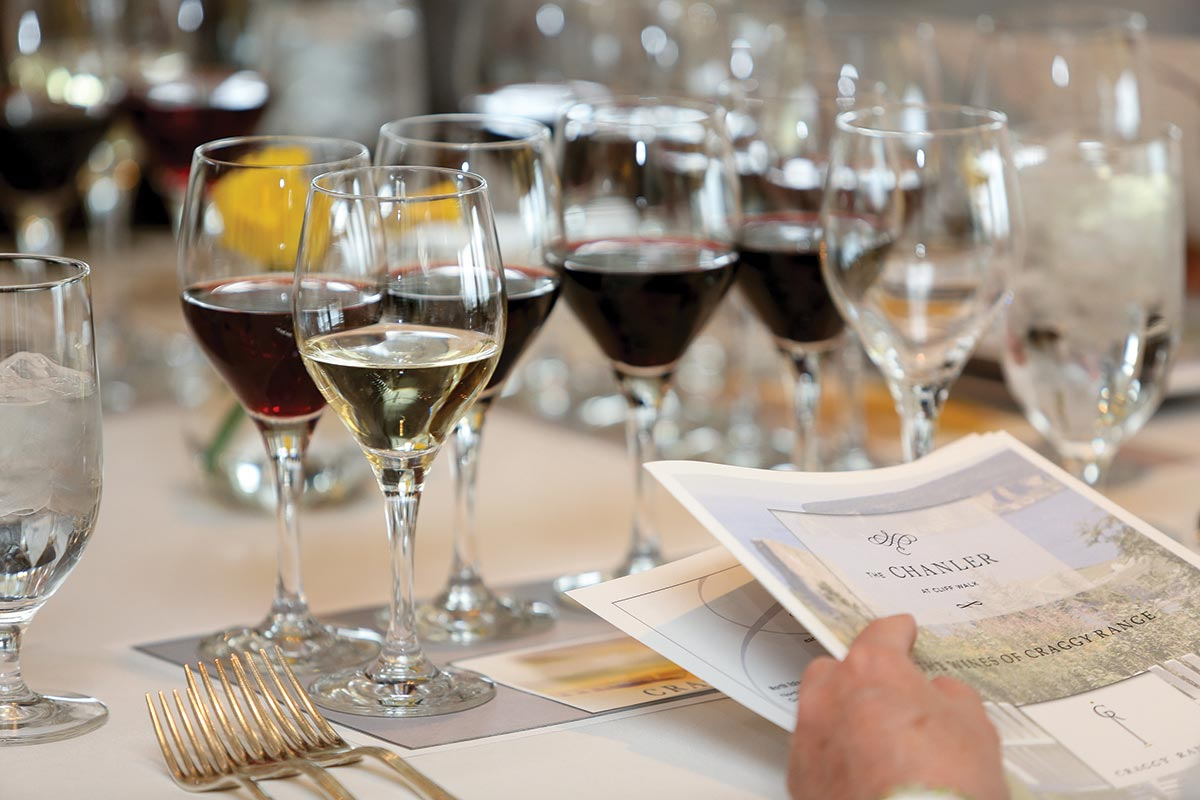 New Zealand Wines Tasted at Sunday Luncheon