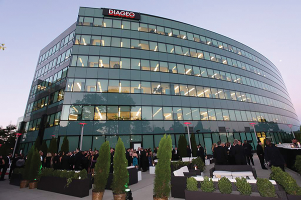 Diageo to Move North American Headquarters from Norwalk