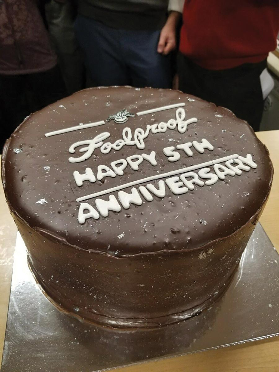 Foolproof Brewing Co. Celebrates Fifth Anniversary