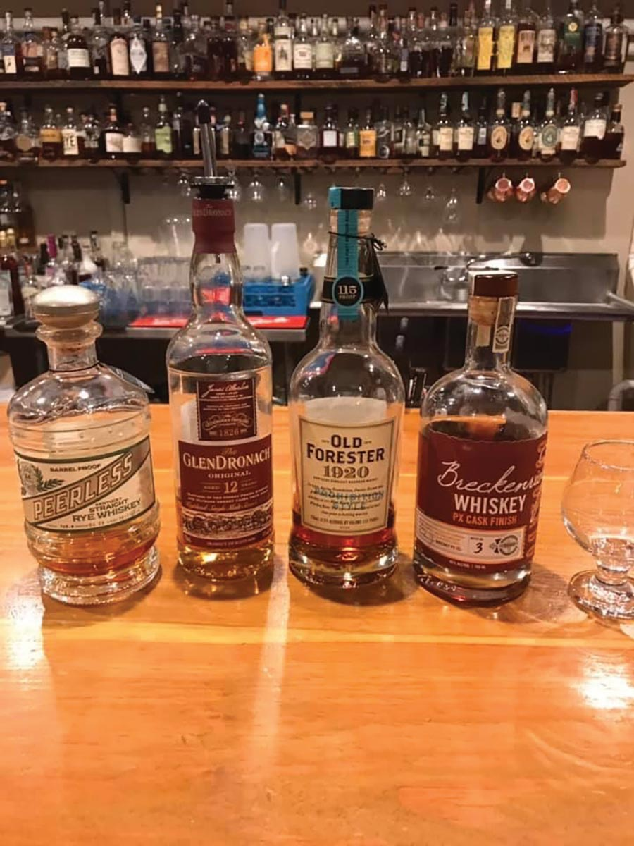 Whiskey Pairing Dinner at Relic Brewing Showcases Variety