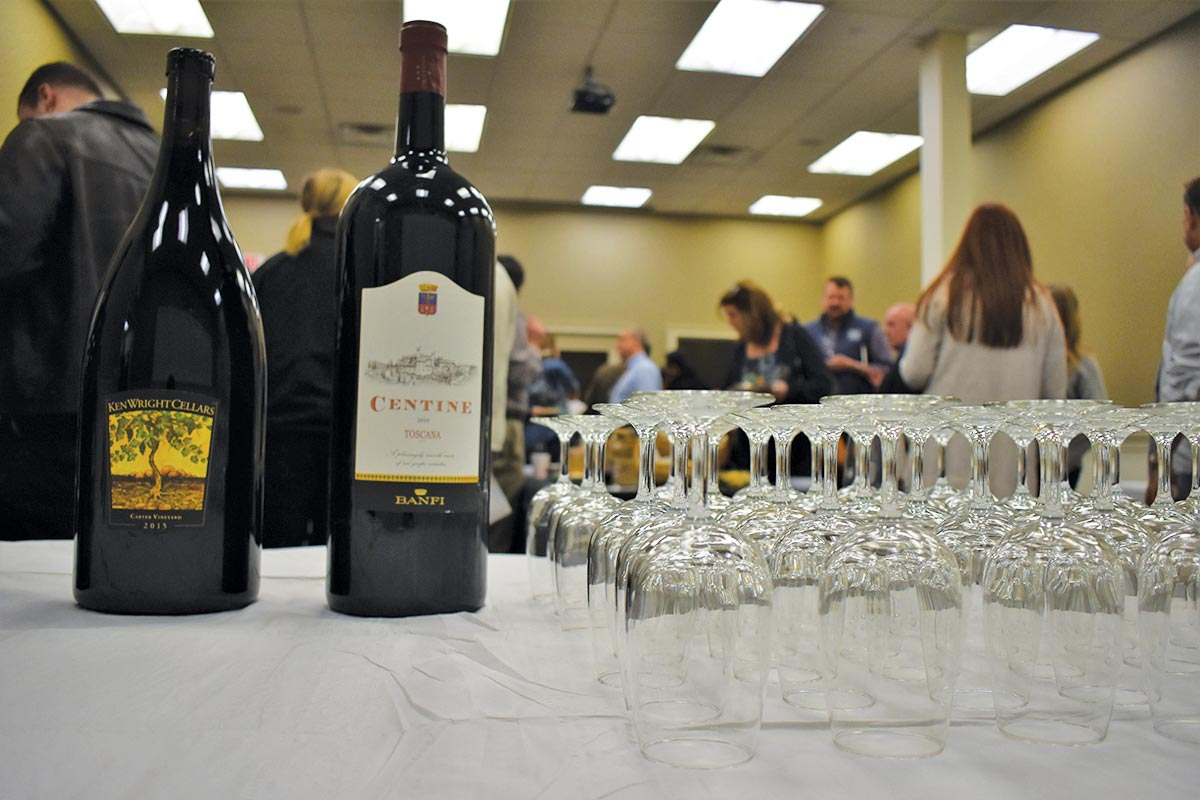 Allan S. Goodman Hosts Tasting of Rare and Fine Wines