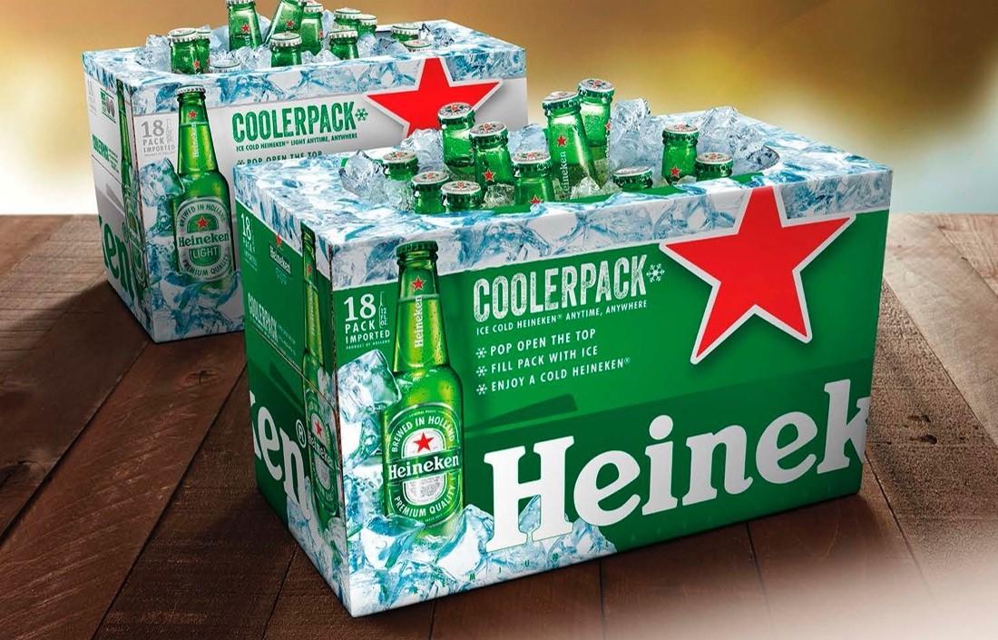 """Heineken Releases 18-Bottle """"Just Add Ice"""" Coolerpack"""