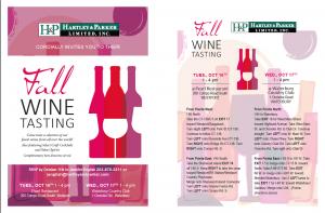 Hartley & Parker Fall Wine Tasting/Westport @ Pearl Restaurant | Westport | Connecticut | United States
