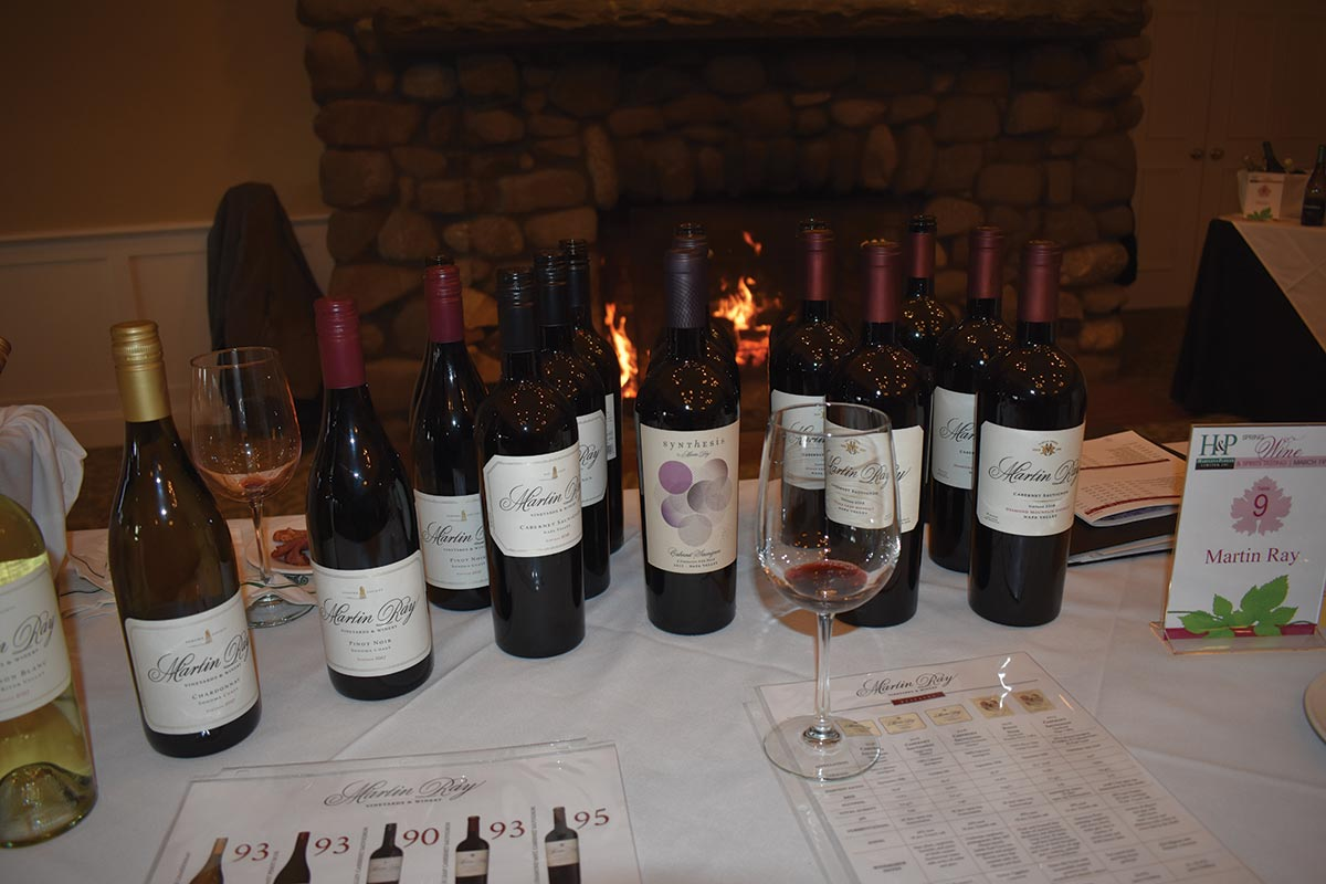 Hartley & Parker Spring Show Features Fine Wine Selections
