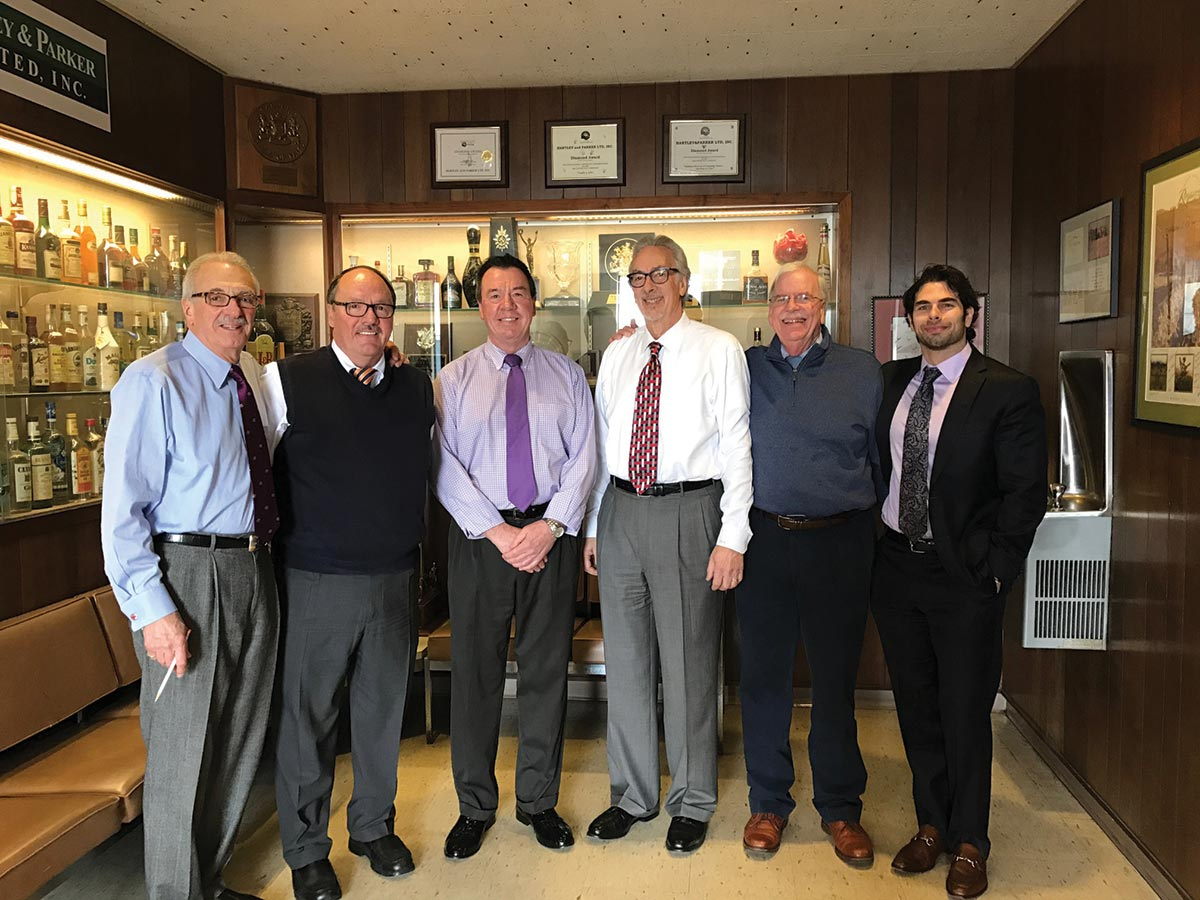 Three Retire from Hartley & Parker with Decades of Sales Excellence