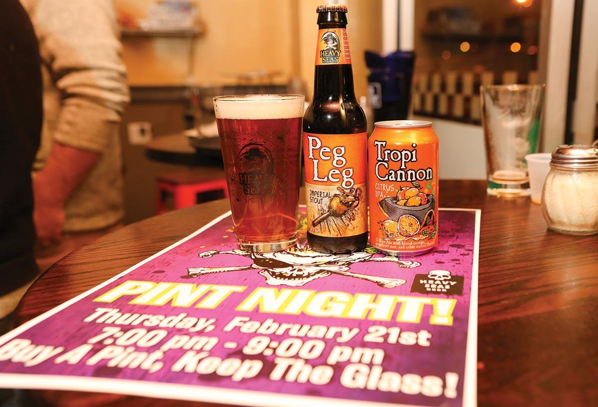 McLaughlin & Moran Hosts Heavy Seas Beer Night