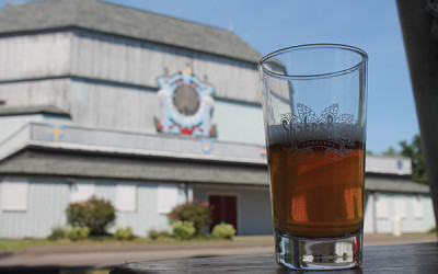 A portion of the proceeds raised during the ShakesBeer Festival go toward revitalization efforts of the historic Shakespeare Theatre in Stratford.