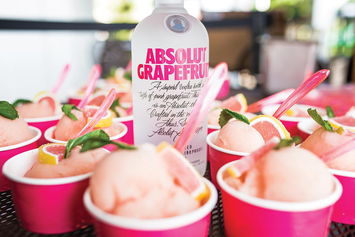 Absolut Grapefruit Launch Sweetens Summer Sales Meeting