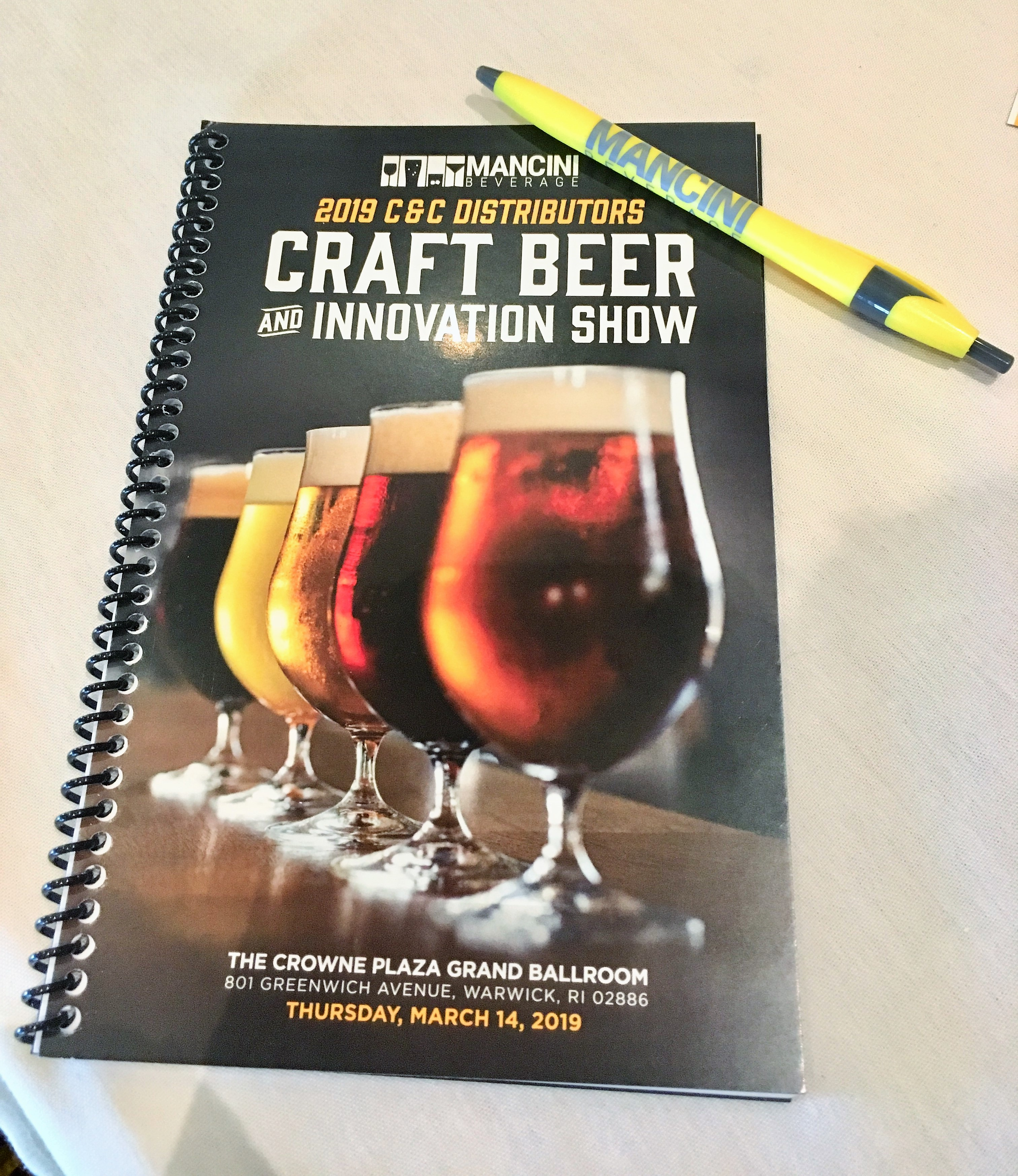 Mancini Beverage Hosts Spring Craft Beer Portfolio Show