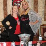 Vanessa Martin and Amanda Holt, Promotional Team, Narragansett Brewing Company.
