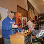 John Croteau, Area Sales Manager, von Trapp Brewing of Vermont.