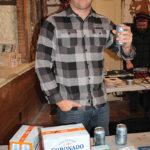 Chris Sharpe, Area Manager, Coronado Brewing Company.