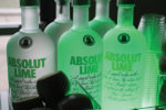 Absolut Lime, the newest expression from the Absolut portfolio.