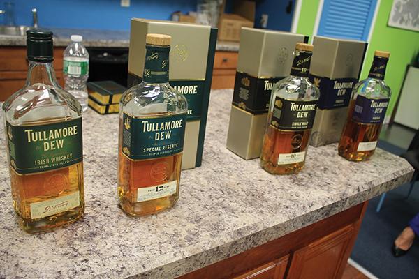 Brescome Barton Hosts Tullamore Dew's Herlihy