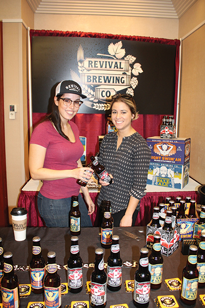Katherine McLaughlin and Brianna Paon of Revival Brewing Company.