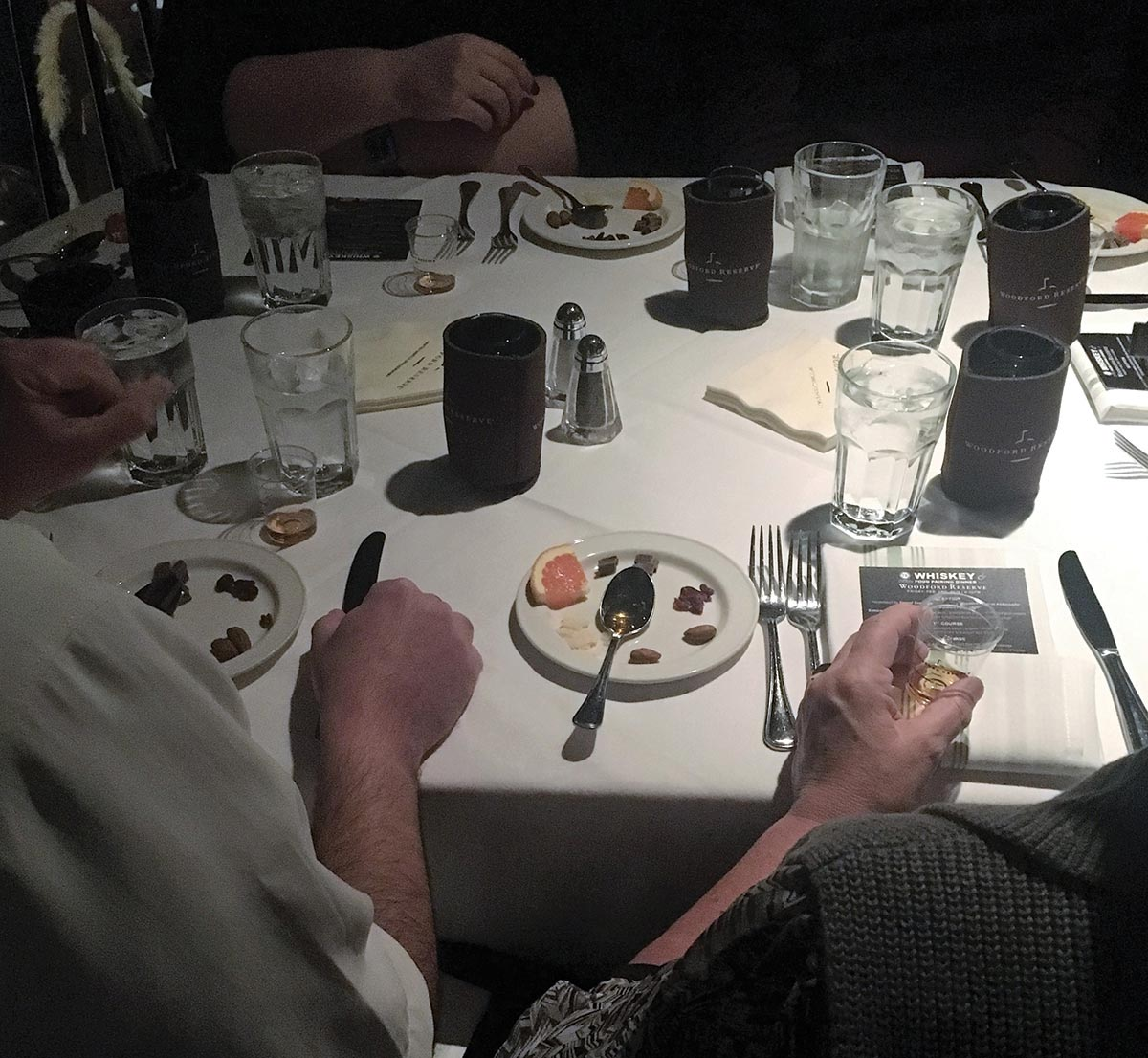 Woodford Reserve Pairing Dinner Highlights Education