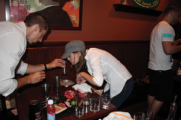 Usbg Ct Bartenders Showcase Talent At Tito S Cocktail