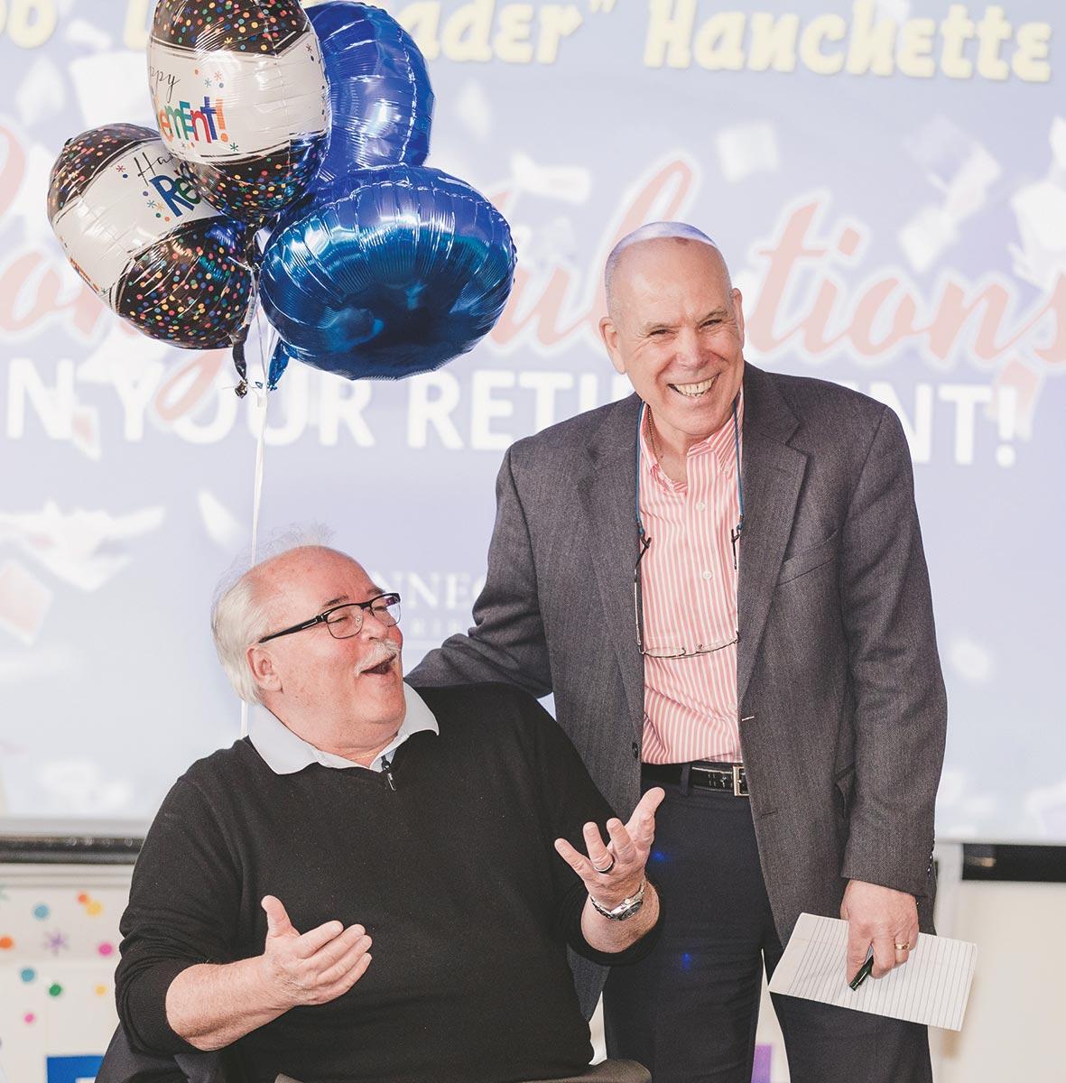 Connecticut Distributors, Inc. Celebrates Two Retirements