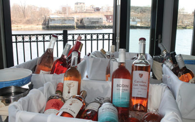 MS Walker hosted its Vintage 2017 Spring Rosé show at Providence's Watermann Grille.