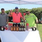 Al Robillard, Guest; Mike Belden, Northeast Beverage; Mike Avery, Northeast Beverage; Larry Sestito, Sazerac.