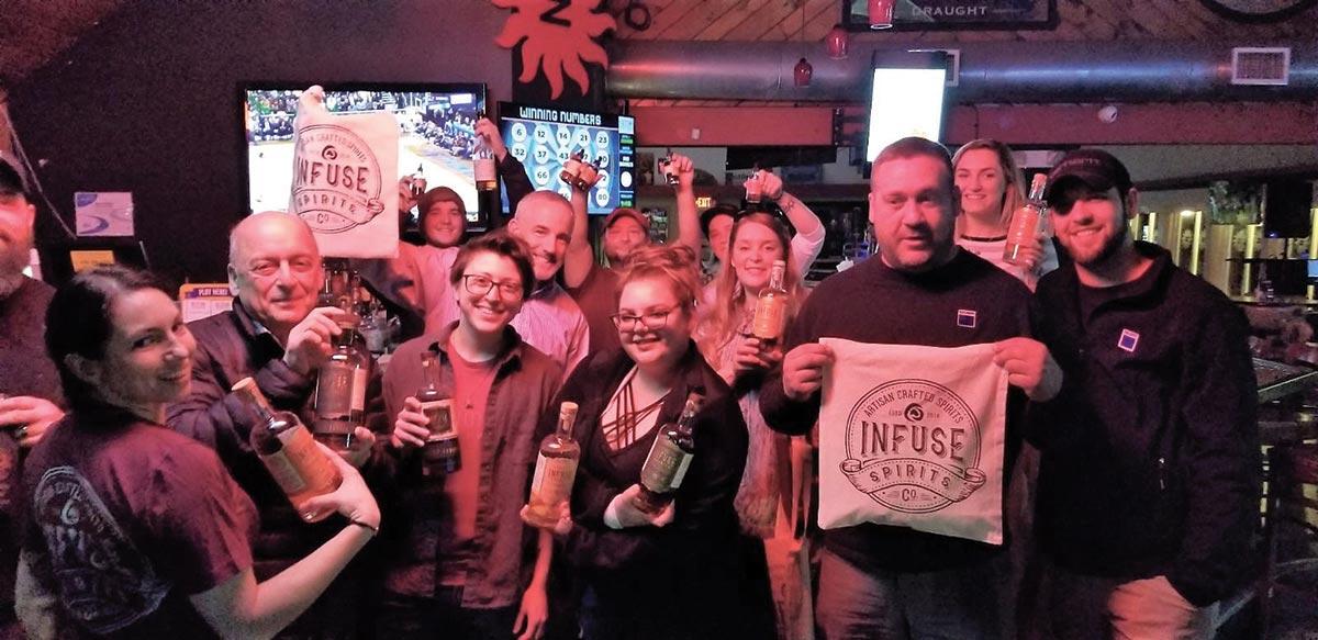 Infuse Spirits Pop-Up Highlights Flavored Vodka