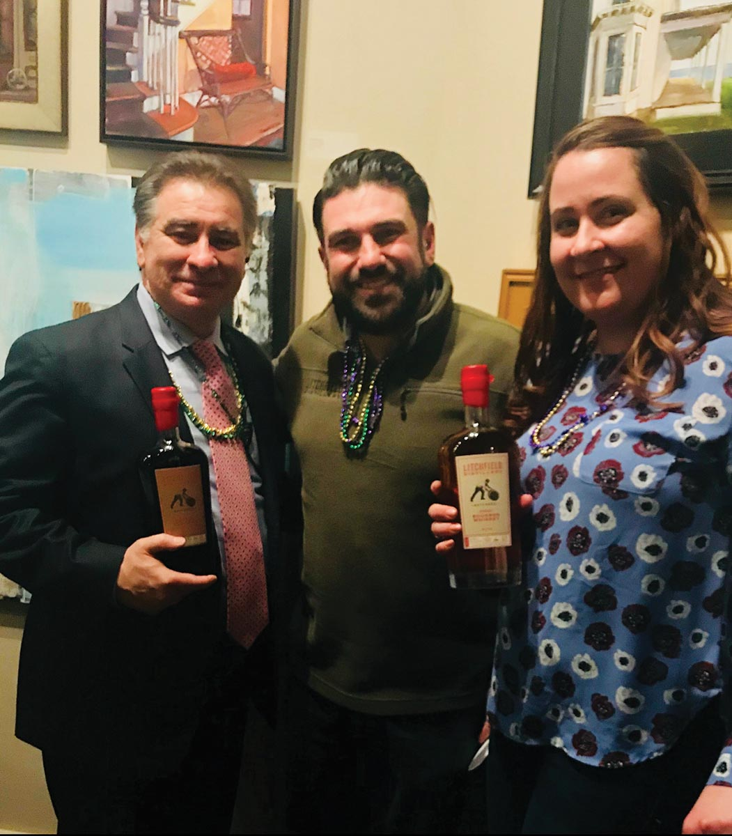Litchfield Distillery Featured at Providence Fat Tuesday Celebration