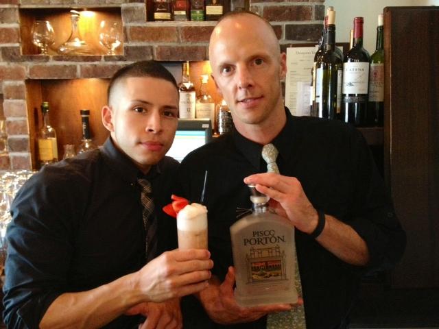 "Serving Up: Mezon's ""Pisco Porton Fresa Blanca"""