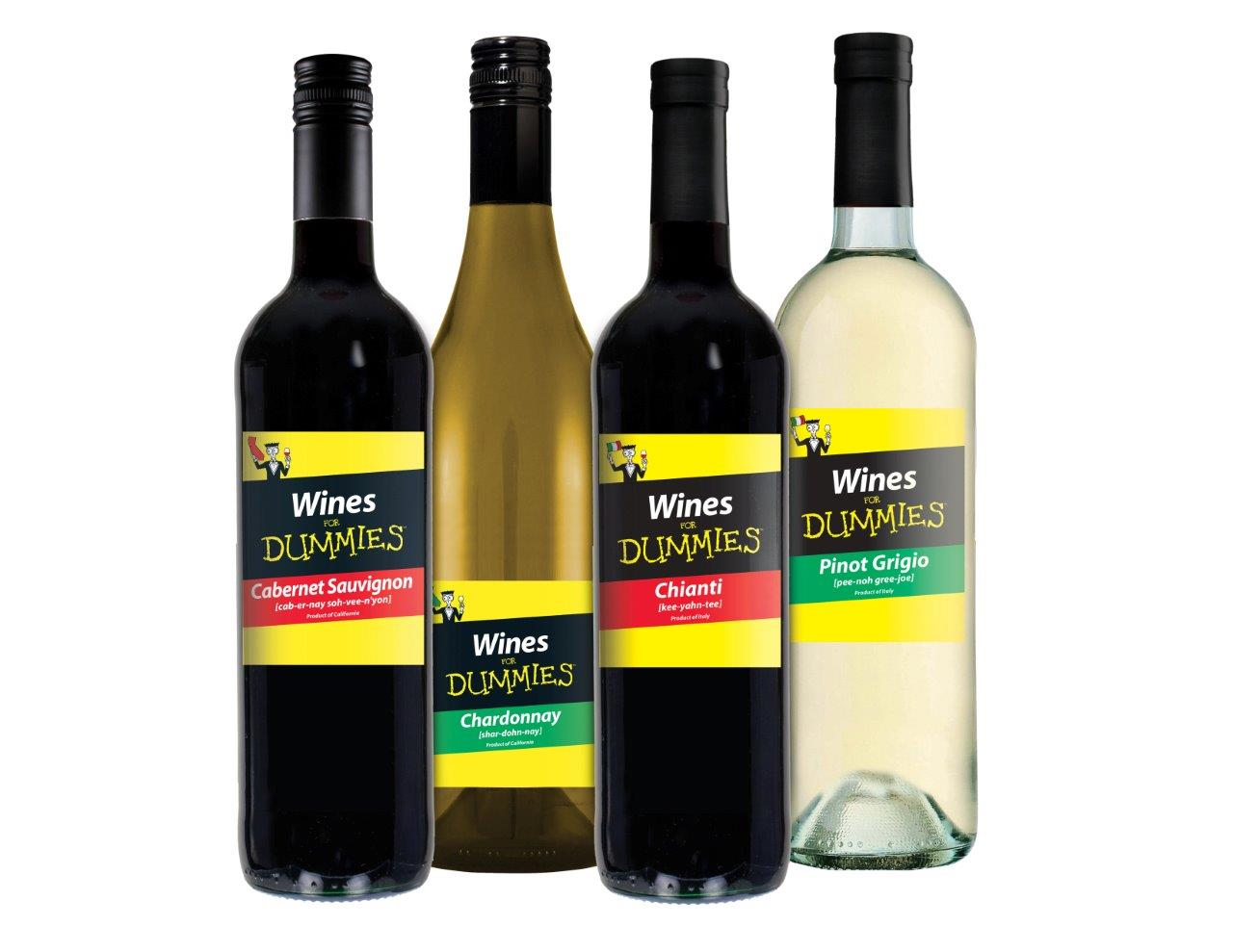 """Angelini Wines to Distribute """"Wines for Dummies"""" Line"""