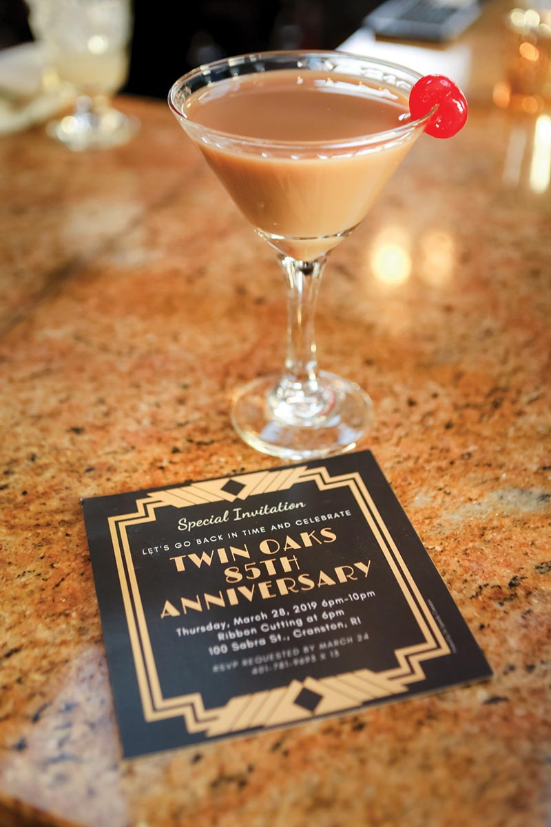 Serving Up: The Espresso Martini at Twin Oaks