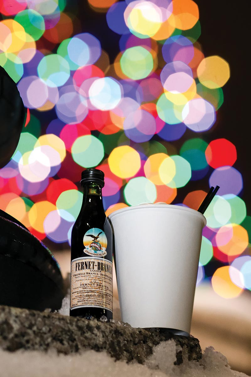 USBG RI and Fernet Hit the Ice for the Holidays
