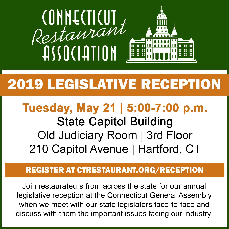 May 21, 2019: CRA 2019 Legislative Reception at the Capitol
