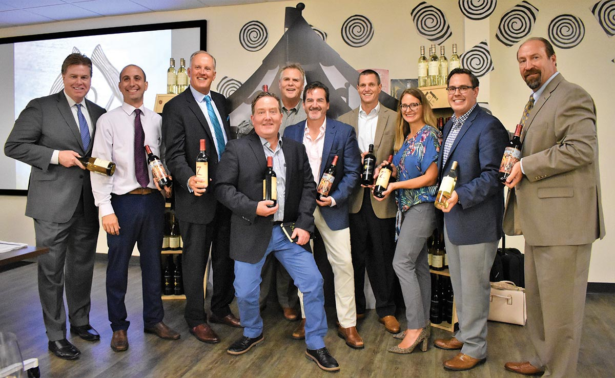CDI Welcomes Michael David Winery in Style