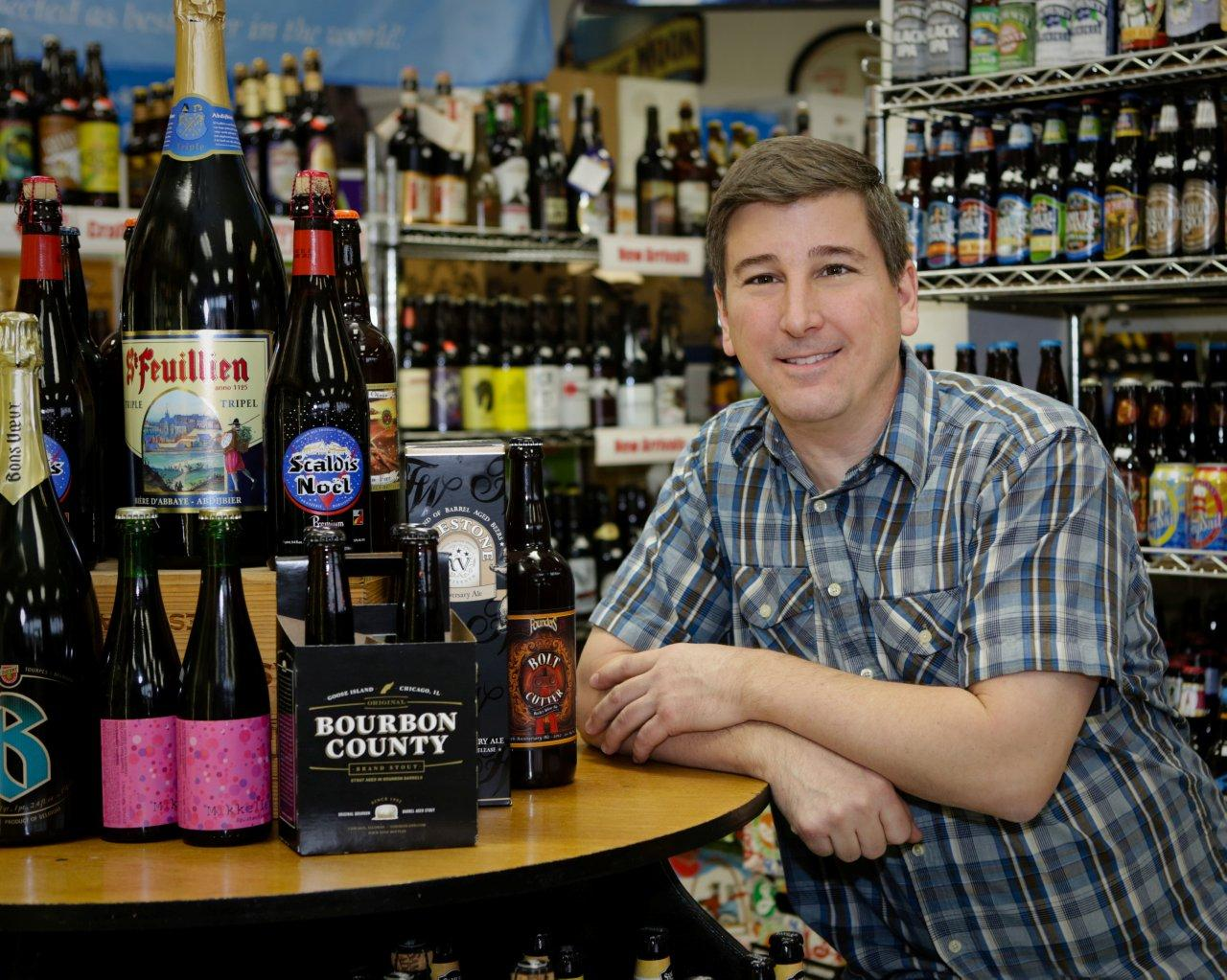 Know thy brew cicerone certification propels staff to new levels michael iannazzi nikkis liquors co owner and beer manager and now cicerone certified beer server xflitez Image collections