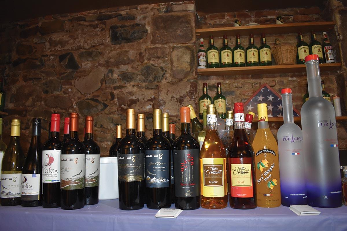 Mina Distributors Showcases Portfolio During Tasting Events